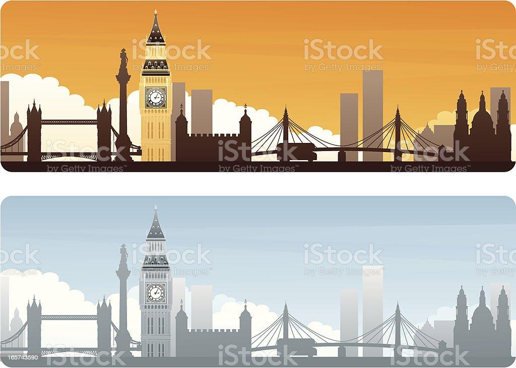 London Travel royalty-free stock vector art