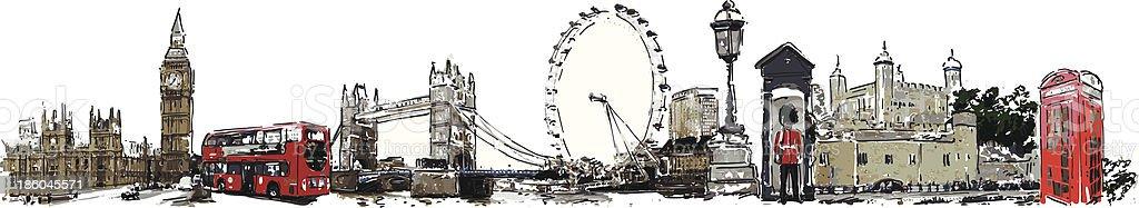 London royalty-free stock vector art