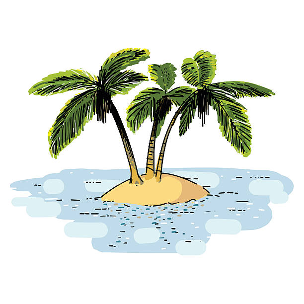 Screen Printing Basics Palm Desert: Oasis Clip Art, Vector Images & Illustrations
