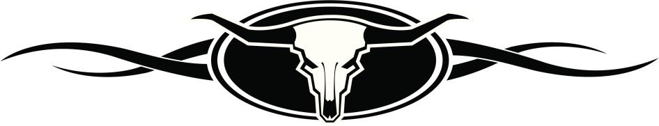 Texas Longhorn Cattle Clip Art, Vector Images ...