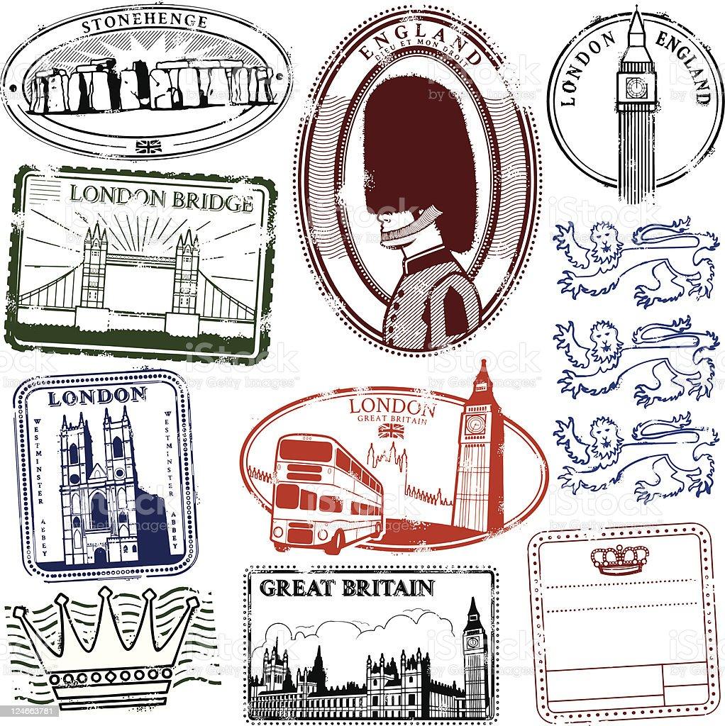 Long Live London vector art illustration