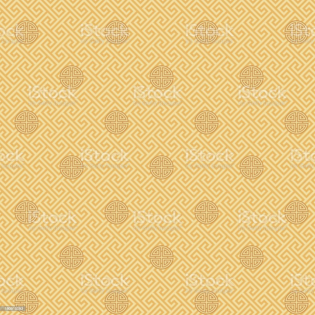 Longevity Seamless Pattern vector art illustration