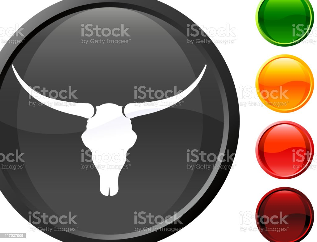 longhorn bull skull internet royalty free vector art royalty-free stock vector art