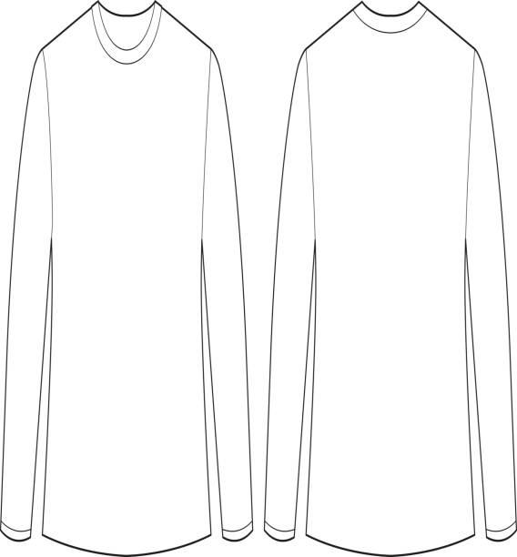 t shirt template clip art vector images illustrations istock. Black Bedroom Furniture Sets. Home Design Ideas
