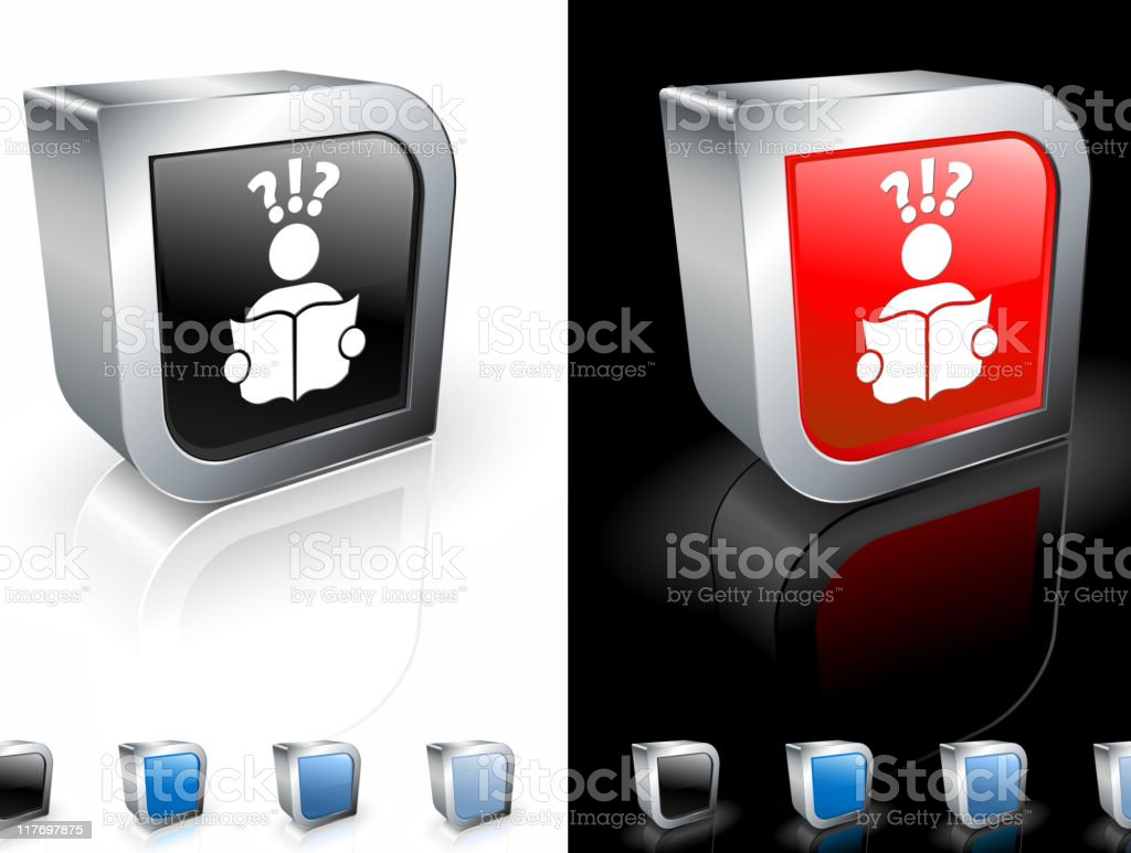 looking for a job 3D royalty free vector art royalty-free stock vector art