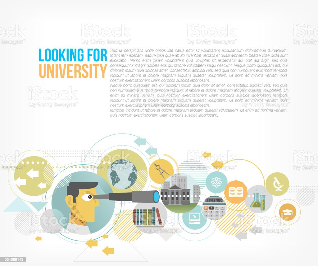Looking for best education vector art illustration