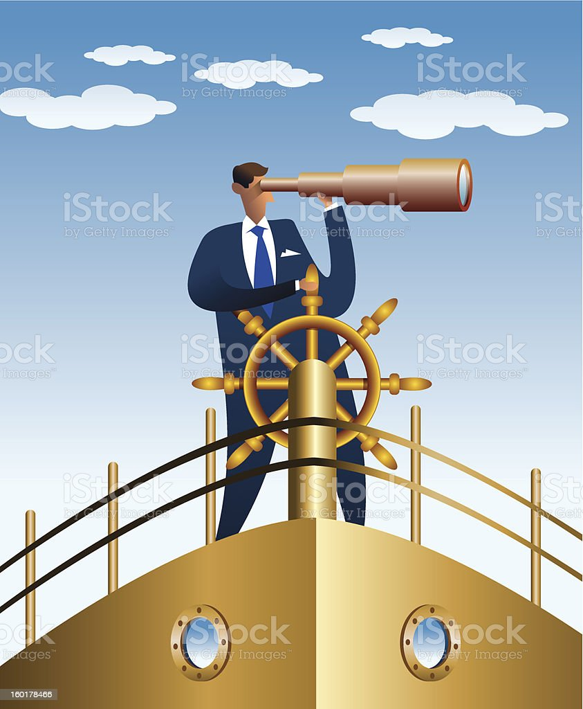 looking for better water royalty-free stock vector art