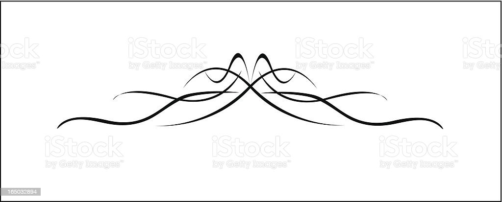 Loosely Woven Accent ( Vector ) royalty-free stock vector art