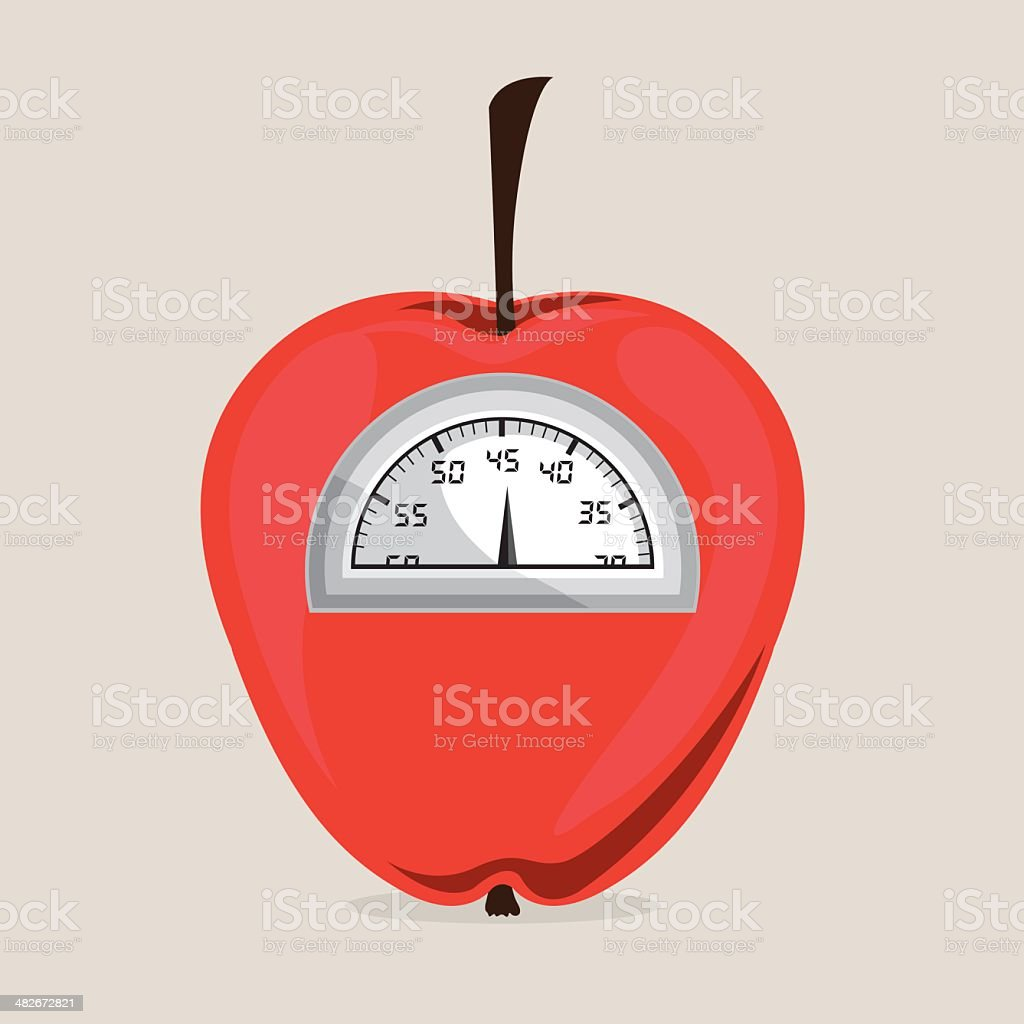 Lose Weight royalty-free stock vector art
