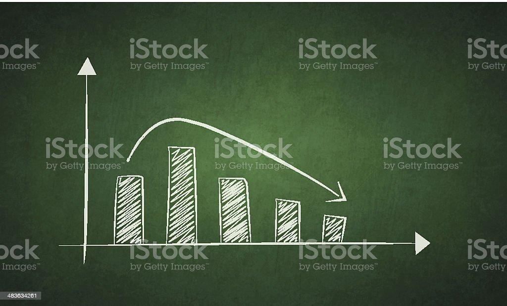 Loss vector art illustration