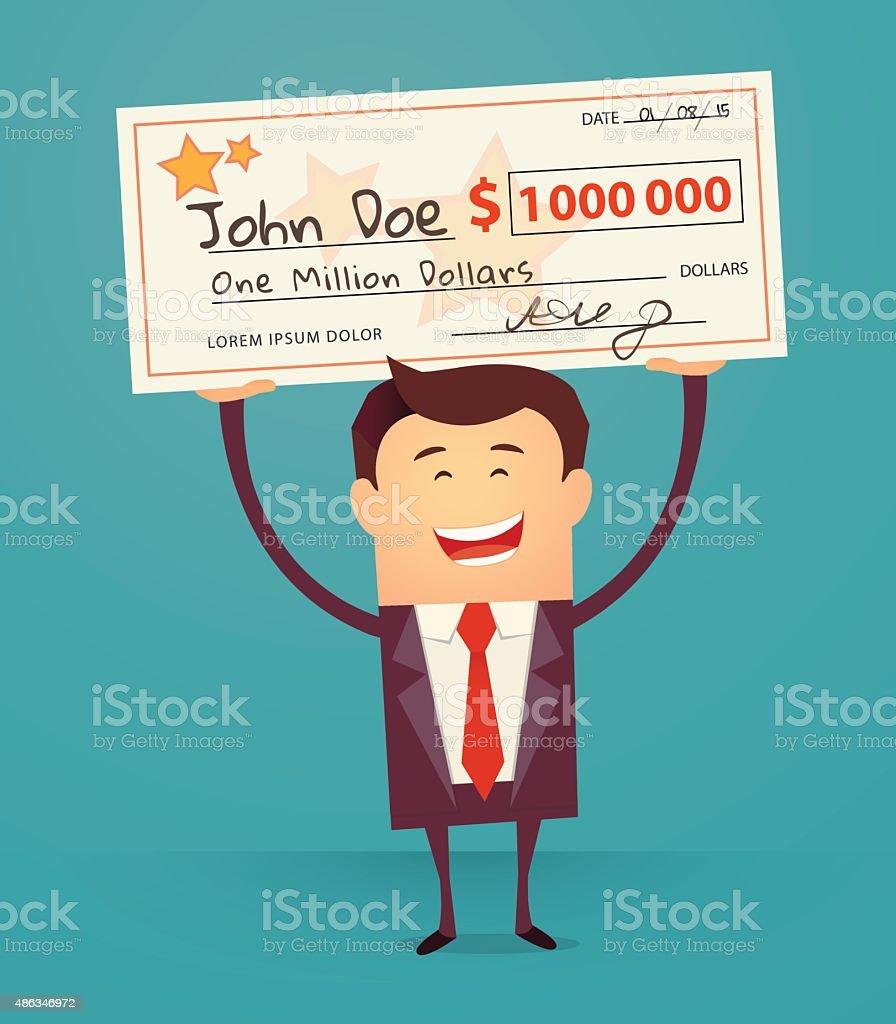 Lottery vector art illustration