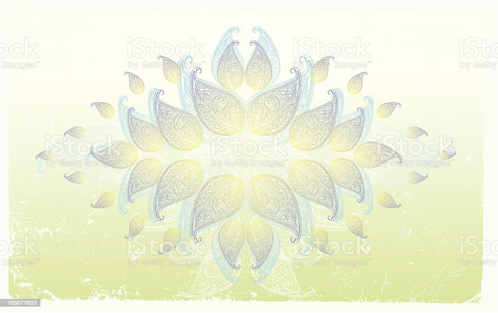 lotus Energie Lizenzfreies vektor illustration