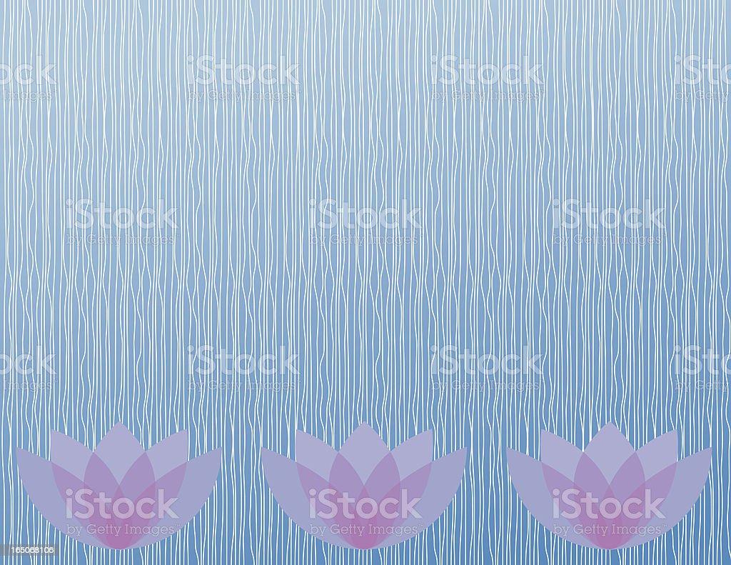 Lotus Lines royalty-free stock vector art