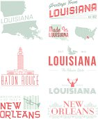 Louisana Typography