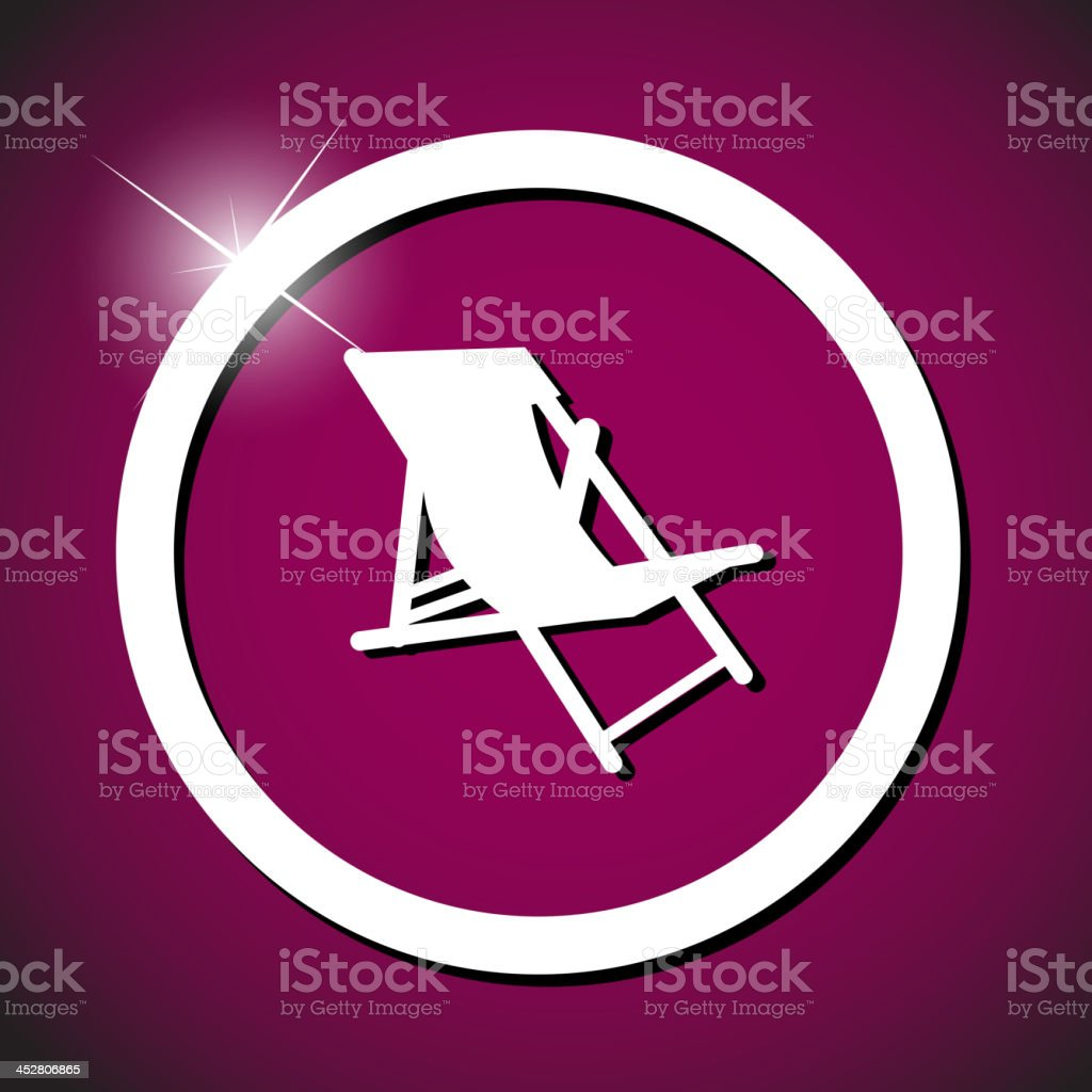 lounge icon vector illustration royalty-free stock vector art