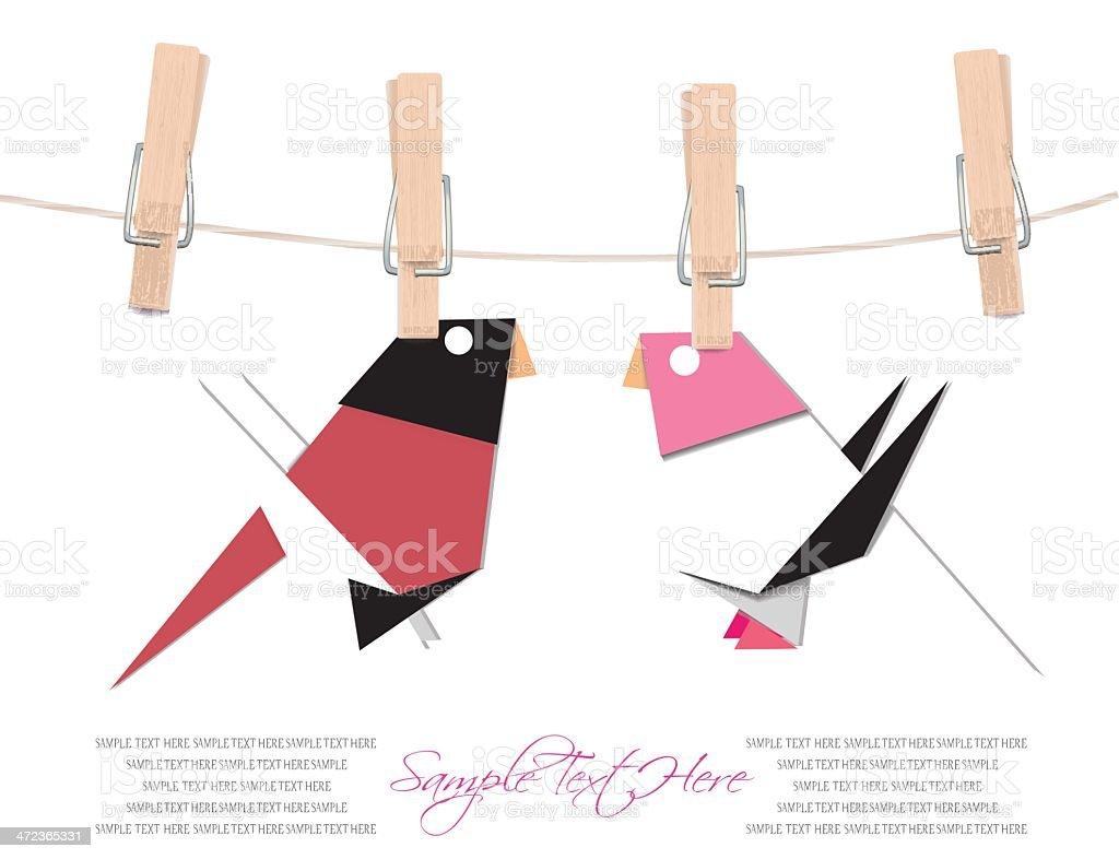love birds royalty-free stock vector art