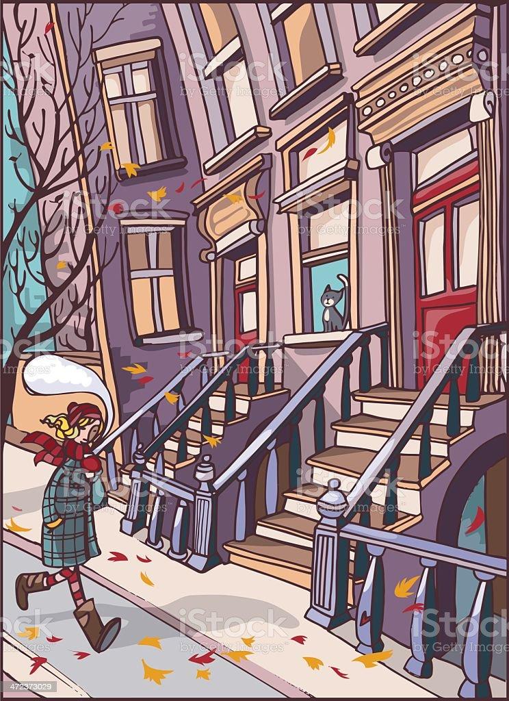 Love Brooklyn royalty-free stock vector art
