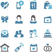 Love, Date and Wedding Icons - Conc Series