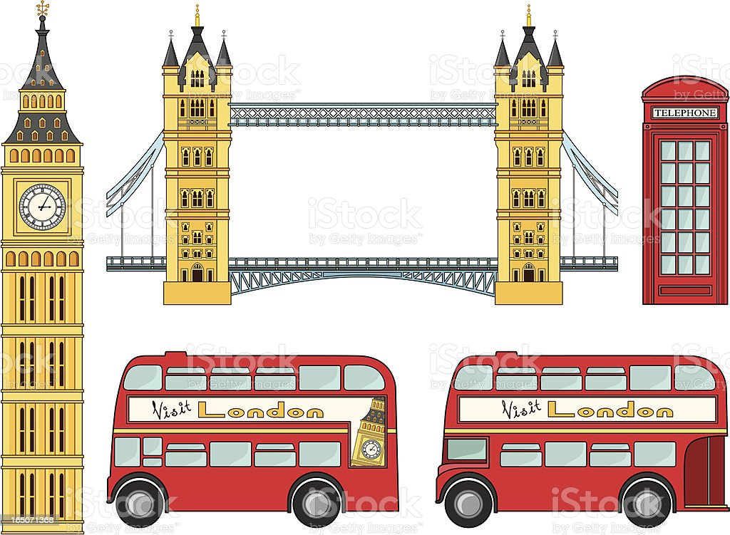 Love from London - incl. jpeg royalty-free stock vector art