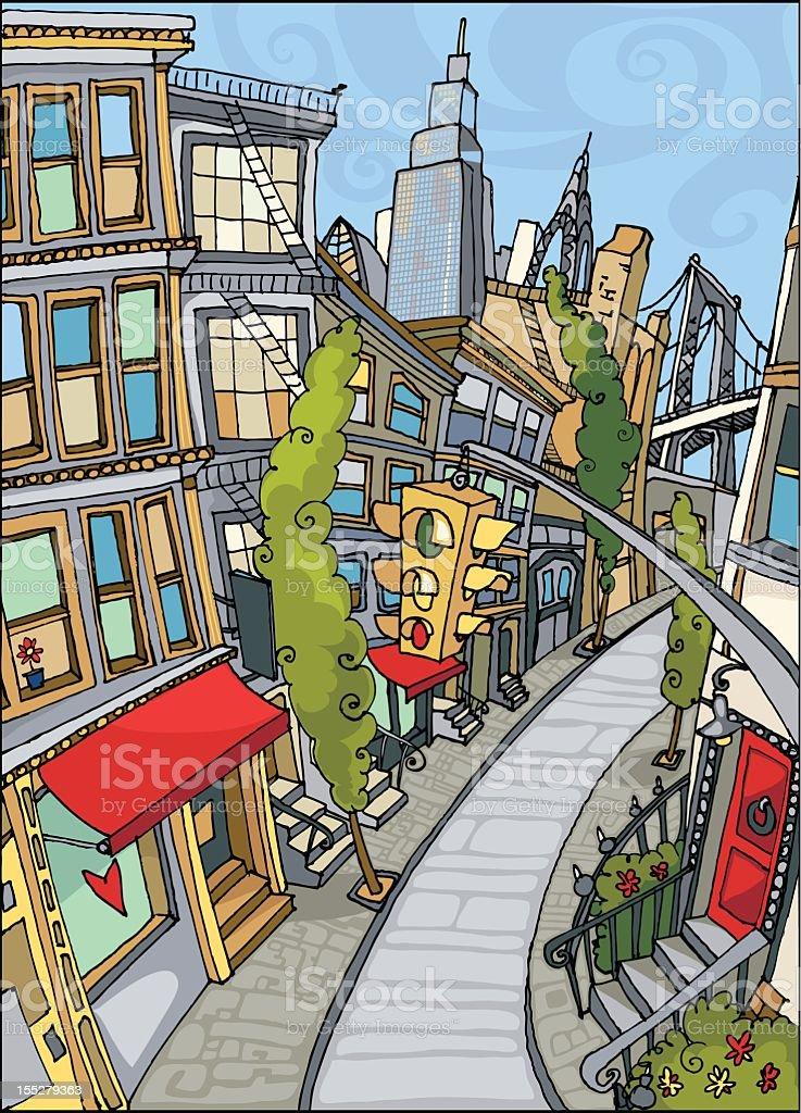 Love New York royalty-free stock vector art
