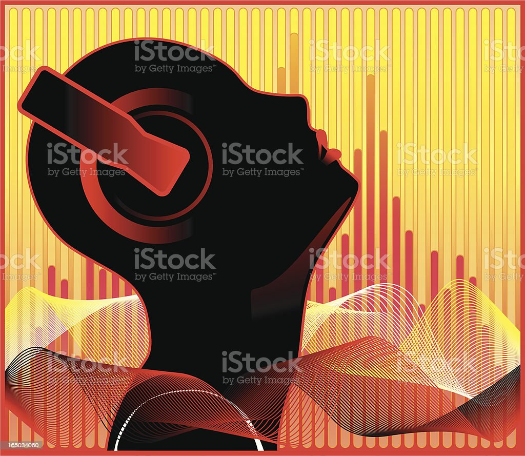 Love of Music royalty-free stock vector art