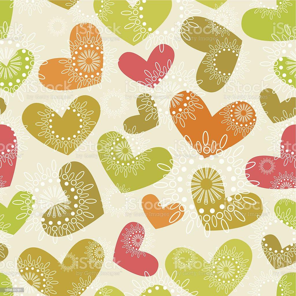 Love pattern royalty-free stock vector art