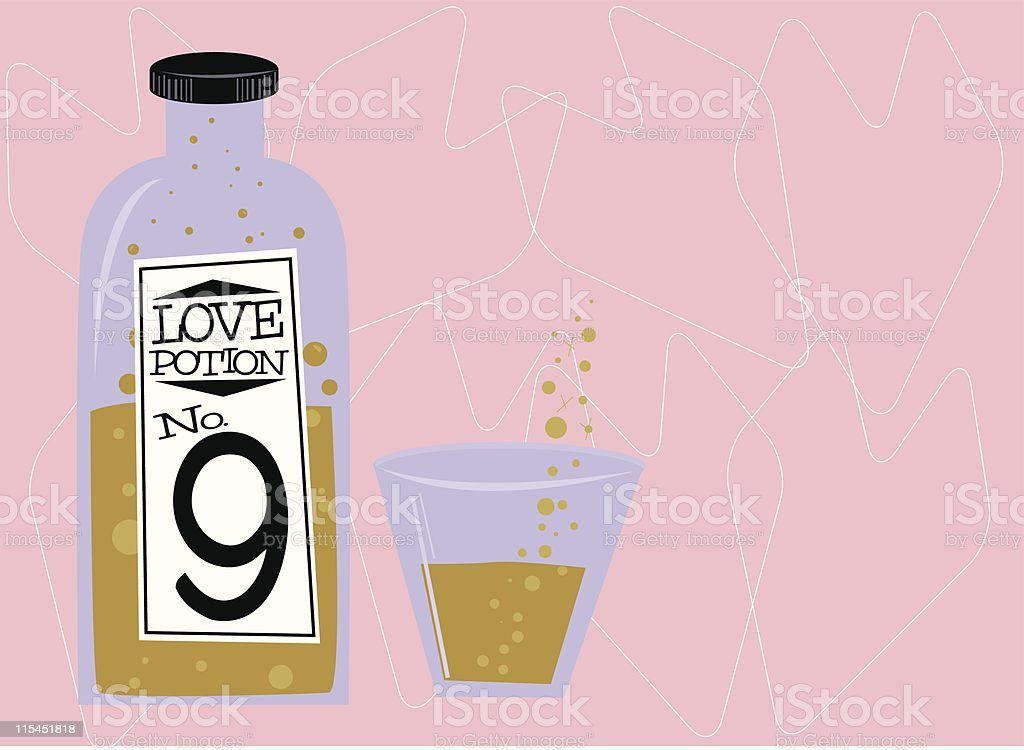 Love Potion royalty-free stock vector art