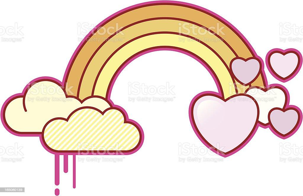 Love Rainbow royalty-free stock vector art