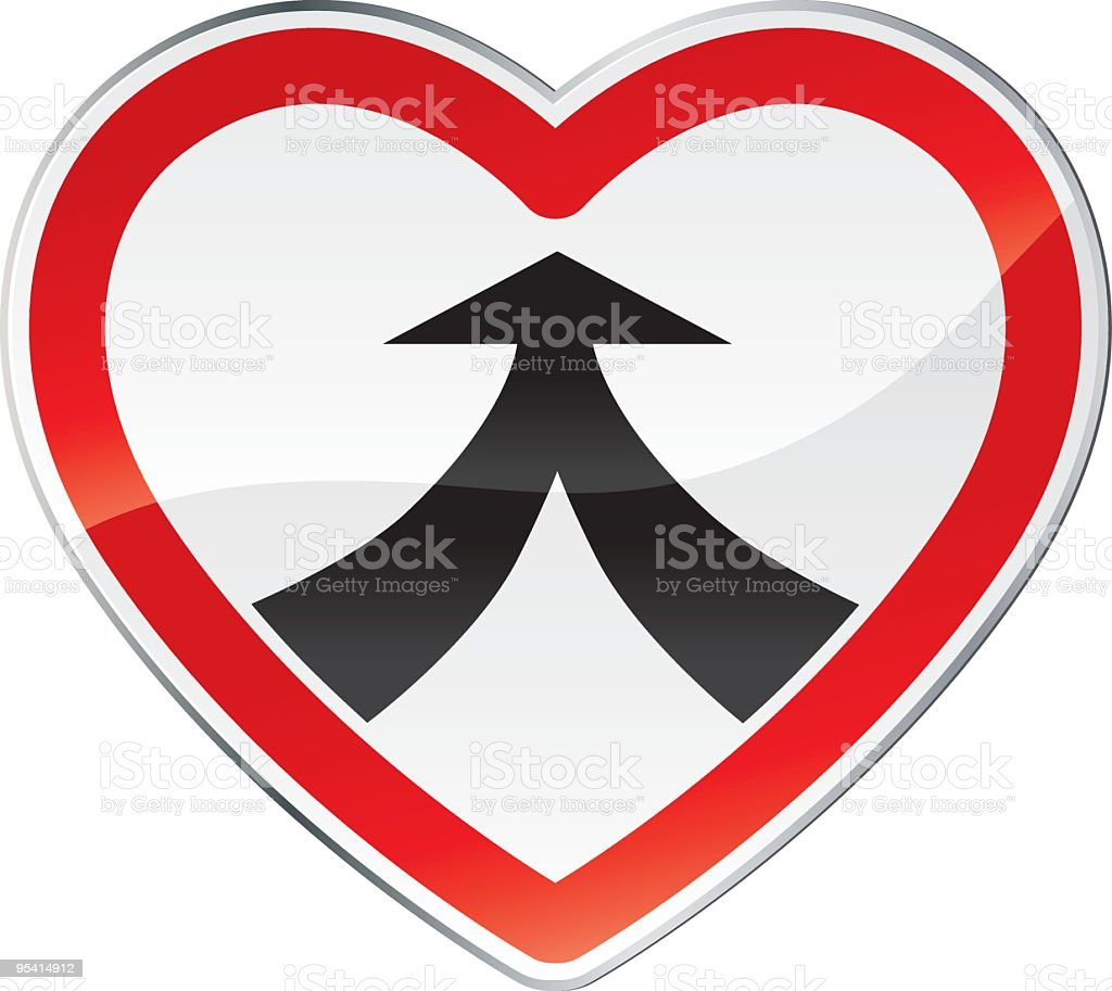 Love together royalty-free stock vector art
