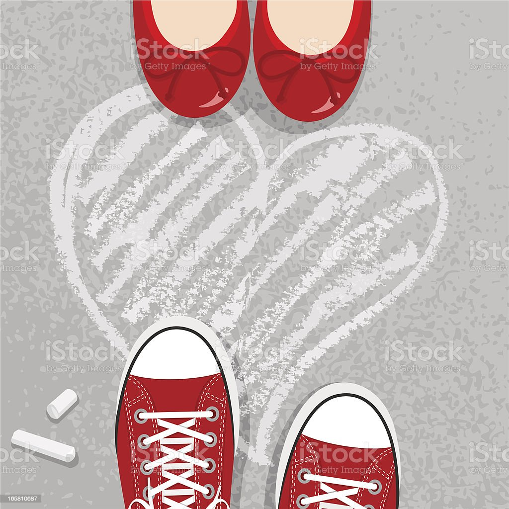 love vector art illustration