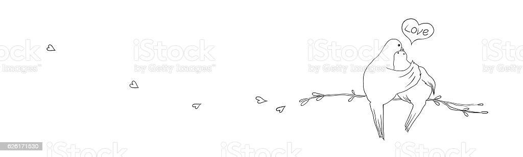 love vector art illustration