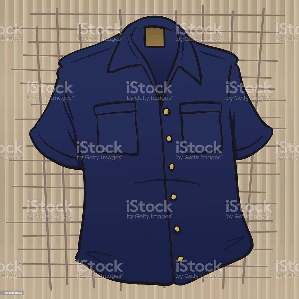 Loved That Shirt vector art illustration