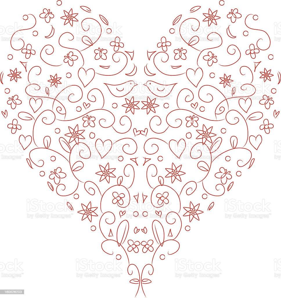 LoveLine royalty-free stock vector art