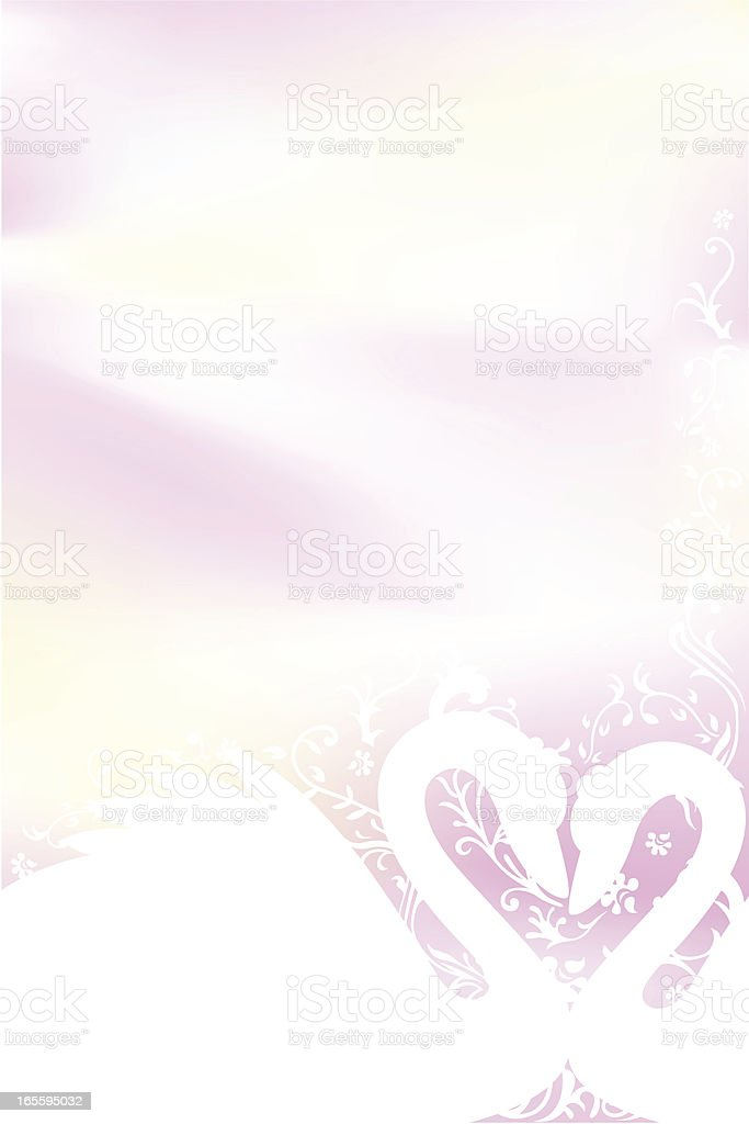 Lovely swan royalty-free stock vector art