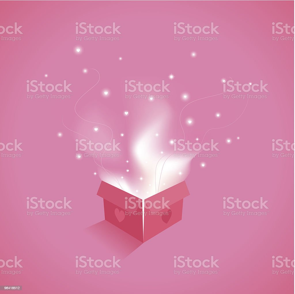 Love's Enchantment royalty-free stock vector art