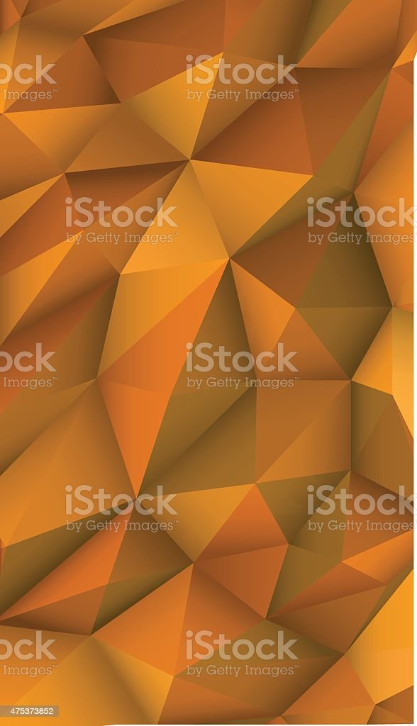 Low Poly Modern Display Triangle Abstract Background vector art illustration