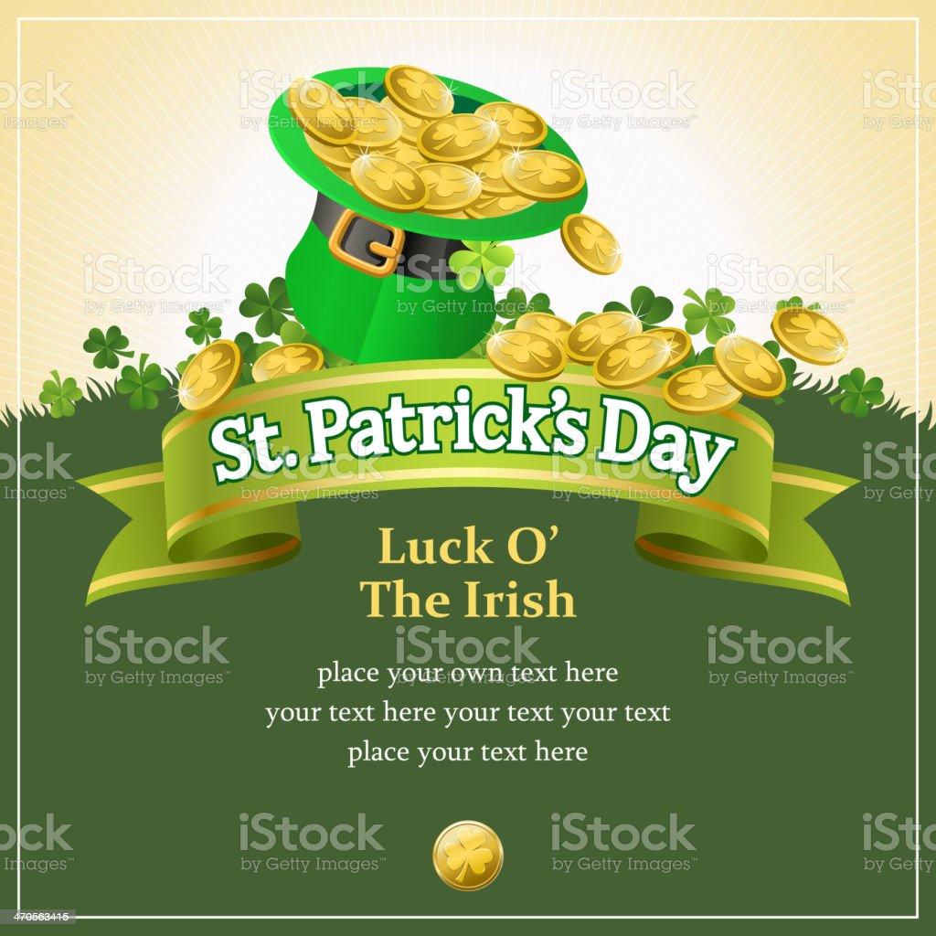 Luck of the Irish vector art illustration