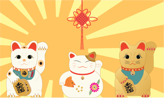 Lucky Cats vect...