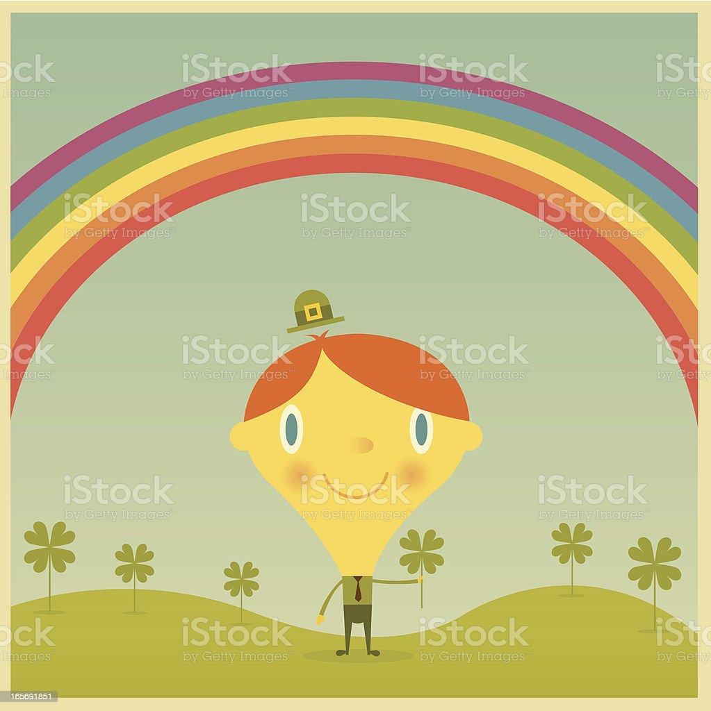 Lucky Leprechaun royalty-free stock vector art