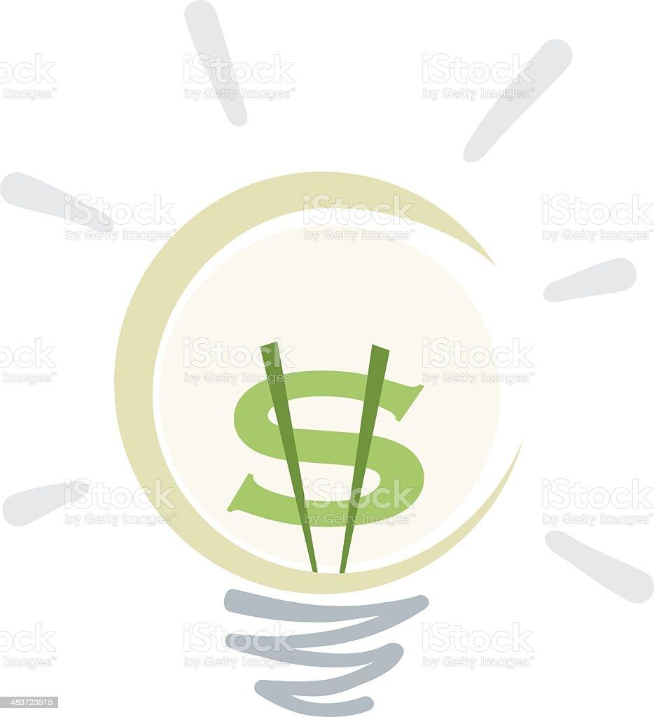 Lucrative Idea royalty-free stock vector art