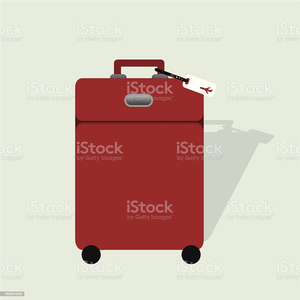 luggage and travel tag royalty-free stock vector art