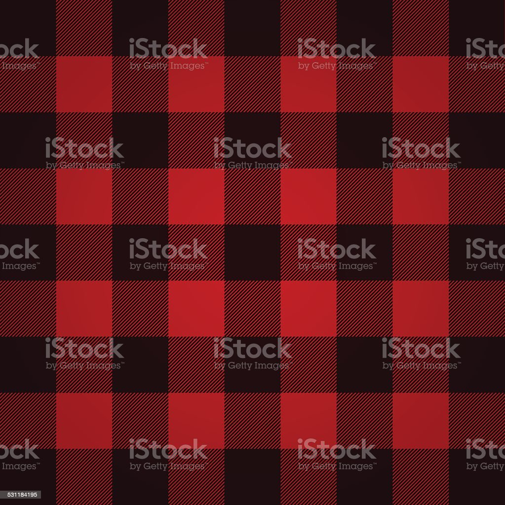 Lumberjack plaid pattern vector illustration vector art illustration