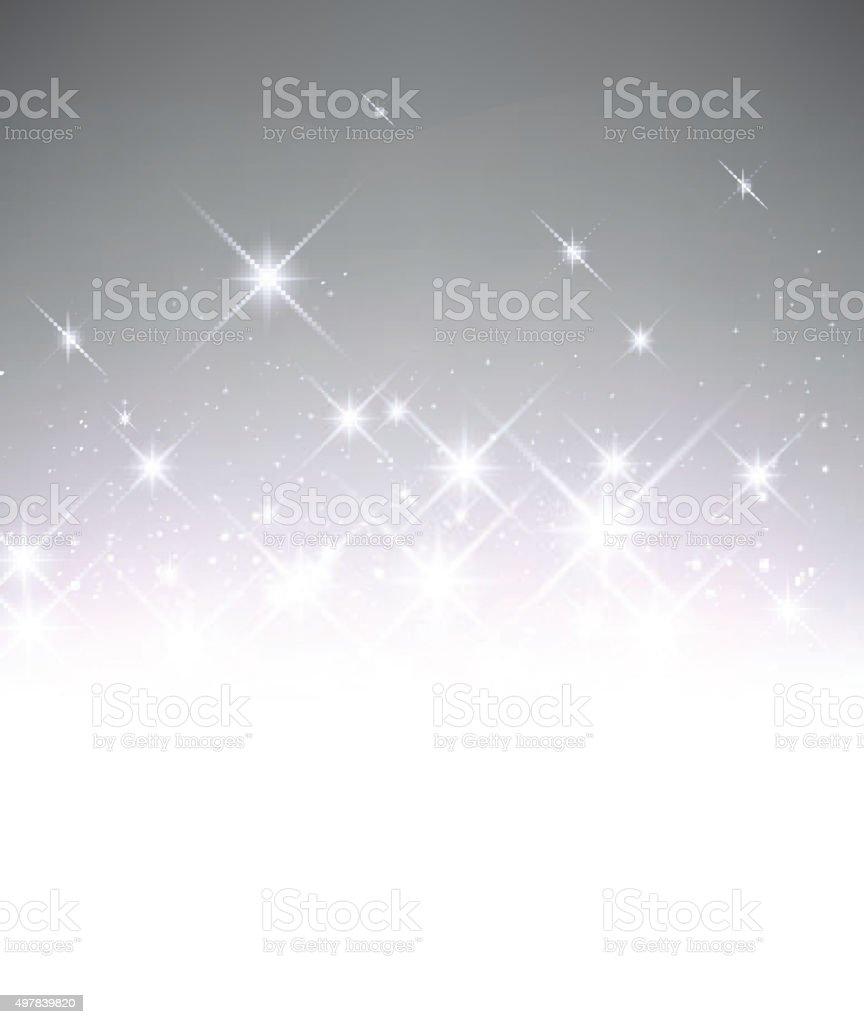 Luminous background vector art illustration