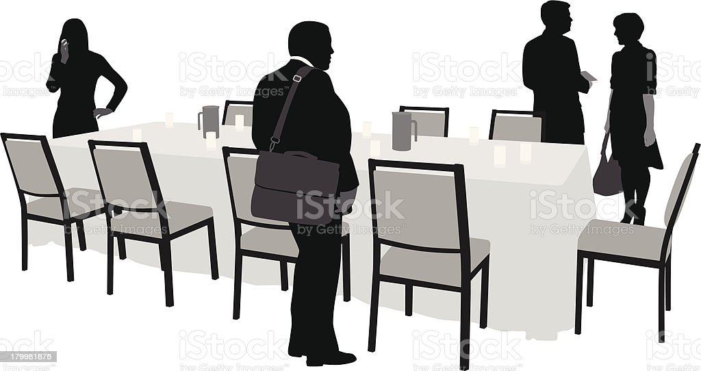 Luncheon royalty-free stock vector art