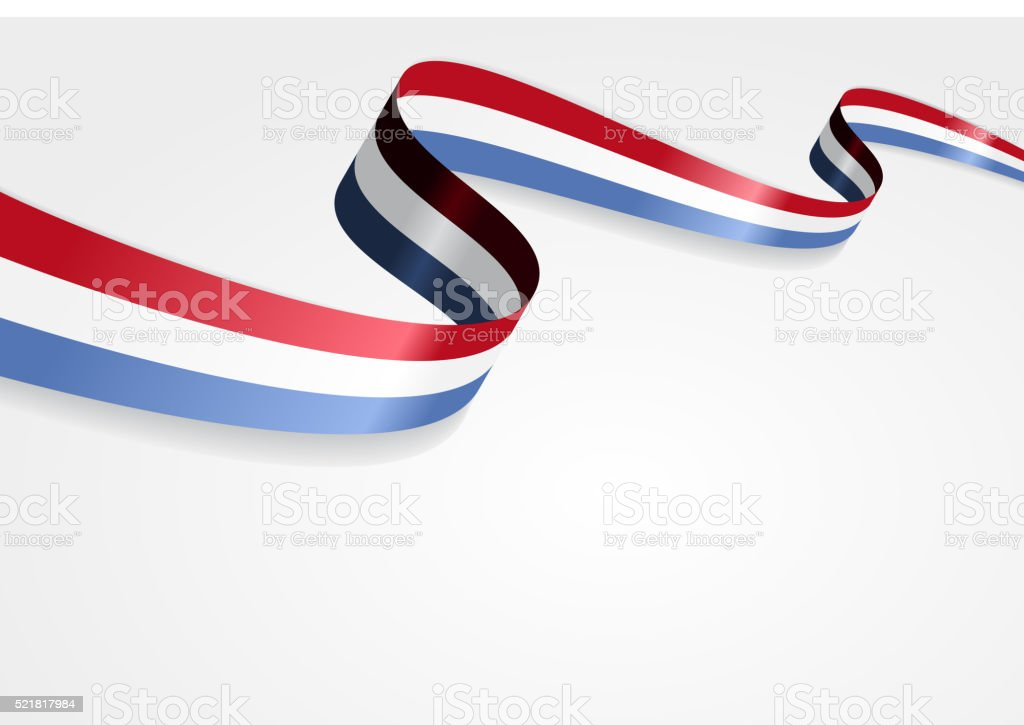 Luxembourg flag background. Vector illustration vector art illustration