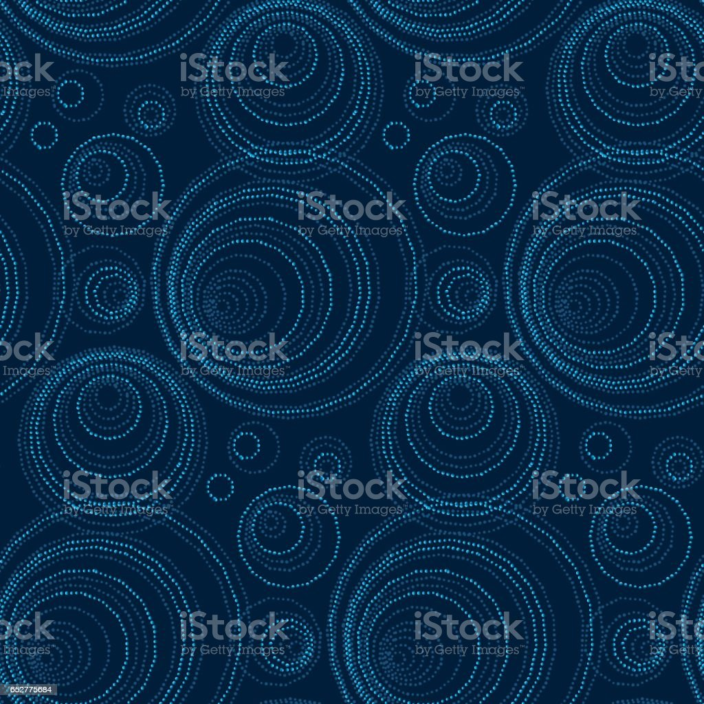 luxury abstract seamless pattern. modern dot and spot surface design for wrapping paper, wallpaper, fabric and fashion vector art illustration