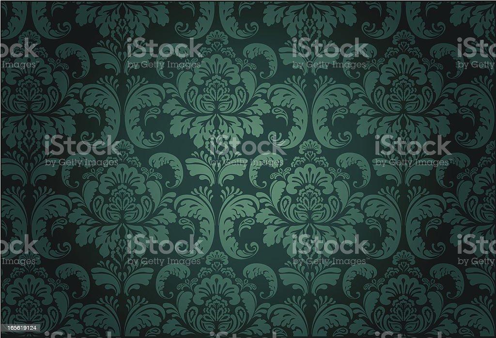 Luxury Floral Pattern#3 vector art illustration