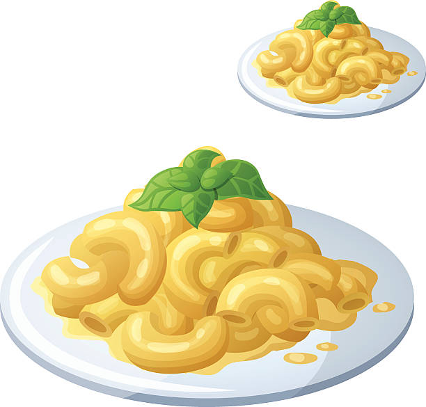 Macaroni Clip Art, Vector Images & Illustrations - iStock