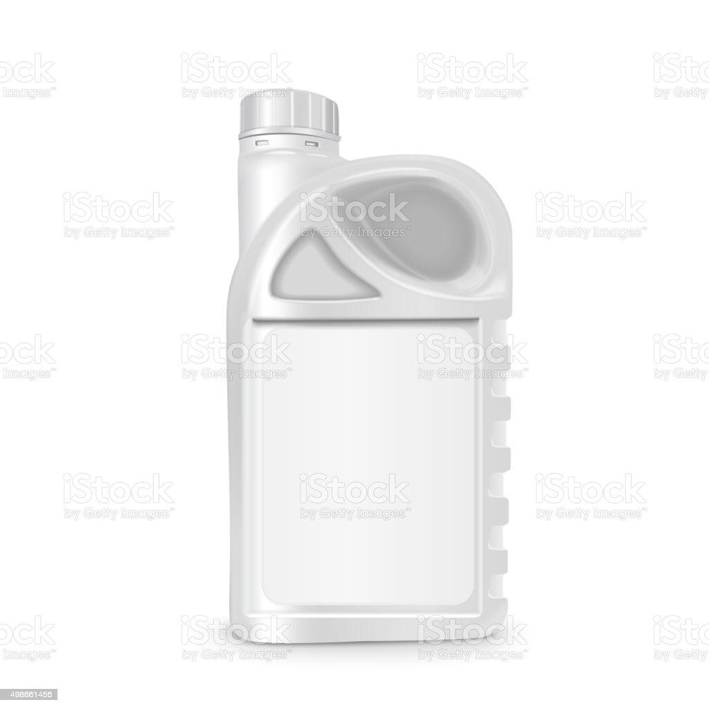machine oil canister vector art illustration