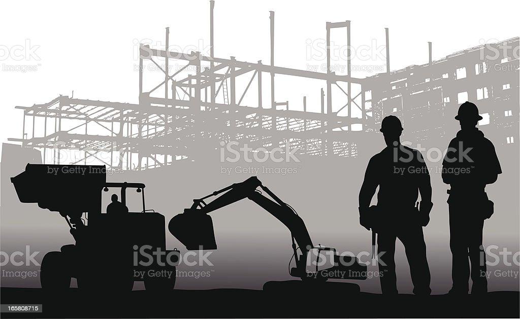 Machinery vector art illustration